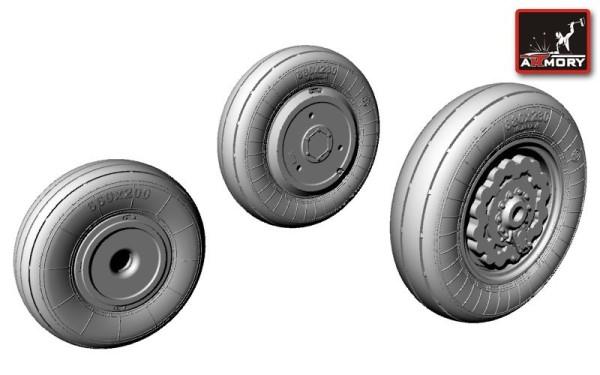 AR AW48008   1/48 Sukhoj Su-17/-22 wheels (thumb12374)