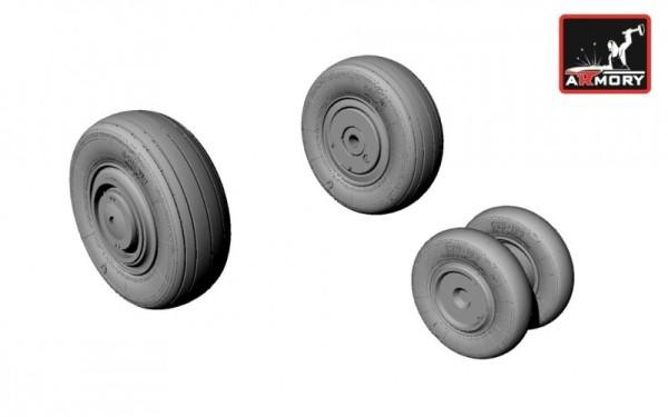 AR AW48010   1/48 Mikoyan МiG-23S,M,MS,MF,U,UB wheels (thumb12378)
