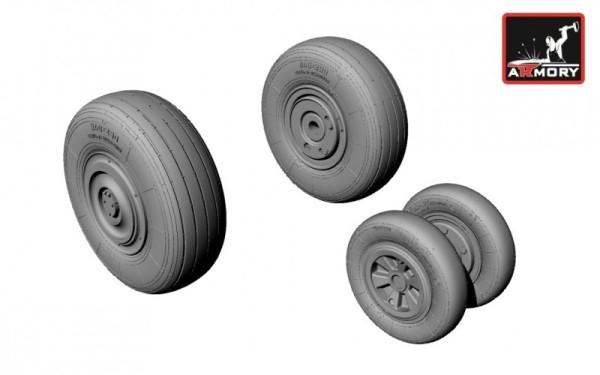 AR AW48011   1/48 Mikoyan МiG-23ML,MLA,MLD,P(late),UM wheels (thumb12380)
