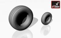 AR AW48501b    1/48 Panavia «Tornado» wheels, w/ tires type «b» (attach2 12520)