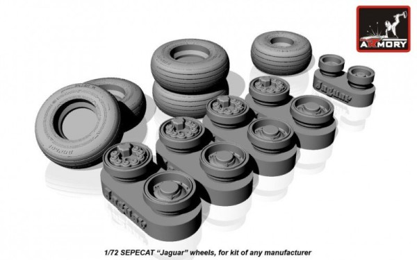 "AR AW48502    1/48 SEPECAT ""Jaguar"" wheels (thumb12524)"