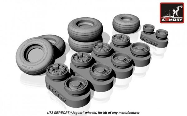 AR AW48502    1/48 SEPECAT «Jaguar» wheels (thumb12524)
