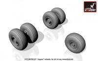 AR AW48502    1/48 SEPECAT «Jaguar» wheels (attach1 12524)