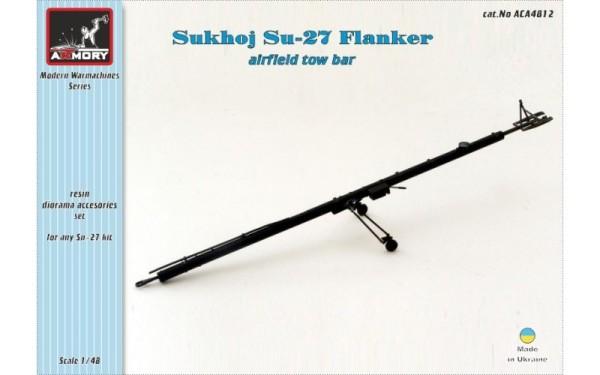 AR ACA4812   1/48 Sukhoj Su-27 Flanker airfield tow bar (thumb12339)