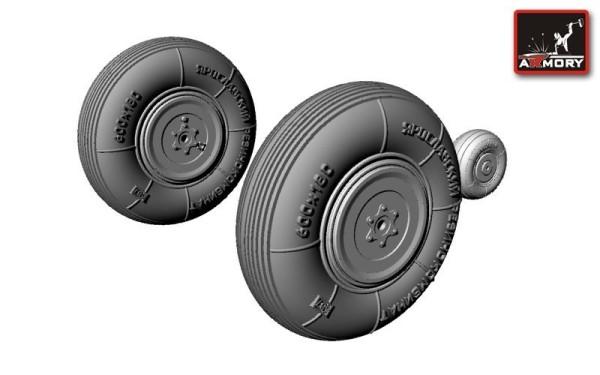AR AW48004   1/48 Yakovlev Yak-3 wheels (thumb12362)