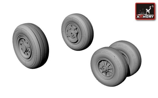 AR AW48304   1/48 F-35C Lightning-II wheels (thumb12448)