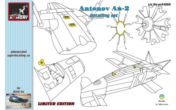 AR peA4808    1/48 Antonov An-2 detailing set (thumb12540)