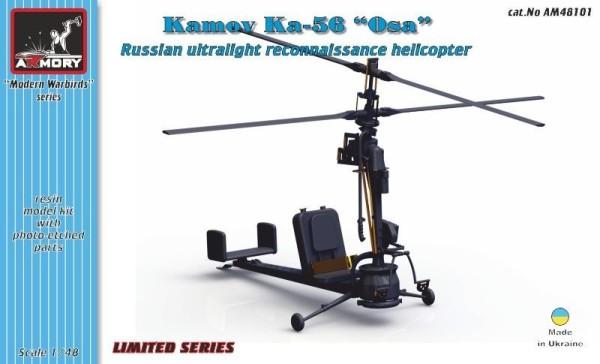 "AR AM48101   1/48 Kamov Ka-56 ""Wasp"" ultralight observation helicopter (thumb12328)"
