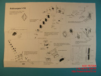 ACEPE7204   Фототравление для модели И-16 от ICM               I-16 Photo-etched update set for ICM kit (attach1 12193)