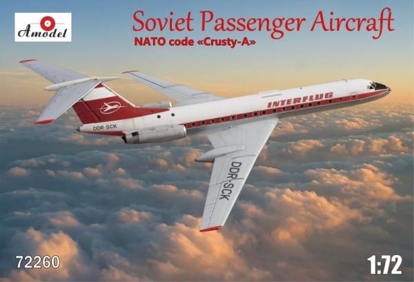 AMO72260   Tupolev Tu-134A Interflug airlines (thumb15459)