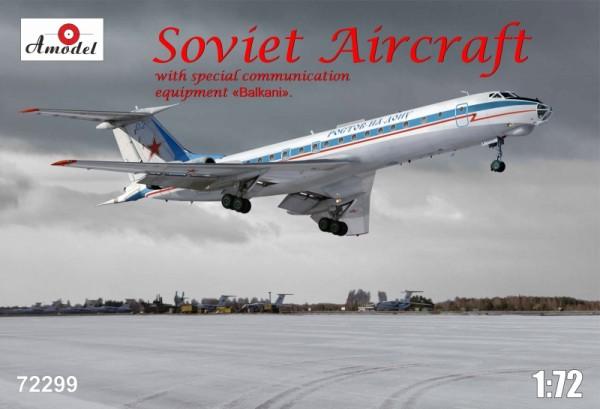 AMO72299   Tupolev Tu-134AK with eqipment 'Balkani' (thumb15513)