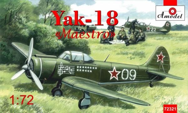 "AMO72321   Yakovlev Yak-18 ""Maestro"" training aircraft (thumb15545)"