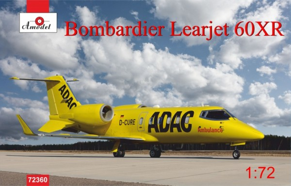 AMO72360   Bombardier Leajet 60XR ADAC ambulance (thumb15571)