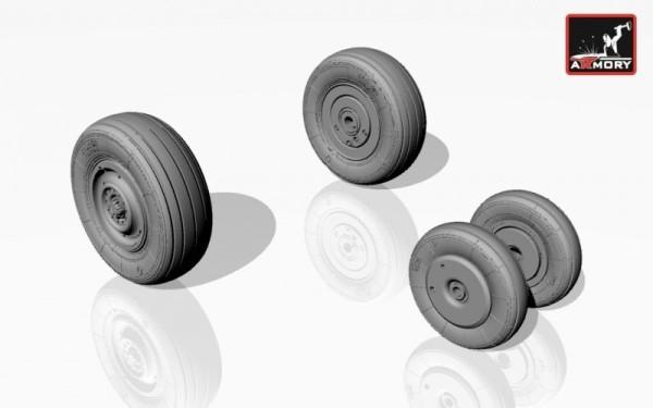 AR AW72017    1/72 Mikoyan МiG-23B,BN wheels (thumb12750)