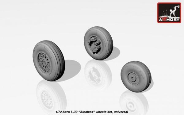 AR AW72026    1/72 AERO L-39 Albatros wheels (thumb12791)