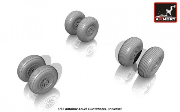 AR AW72029    1/72 Antonov An-26 wheels (thumb12803)
