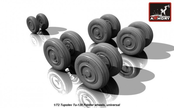 AR AW72041    1/72 Tupolev Tu-128 wheels (thumb12843)