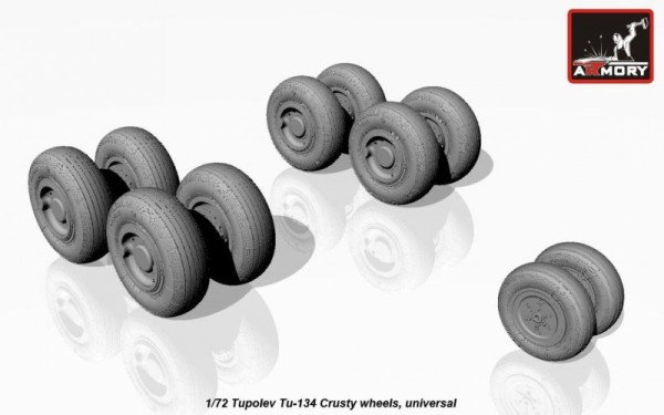 AR AW72042    1/72 Tupolev Tu-134 wheels (thumb12848)