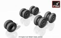 AR AW72043    1/72 Tupolev Tu-22 Blinder wheels (attach1 12856)