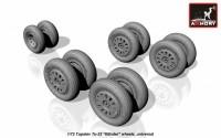 AR AW72043    1/72 Tupolev Tu-22 Blinder wheels (attach2 12856)