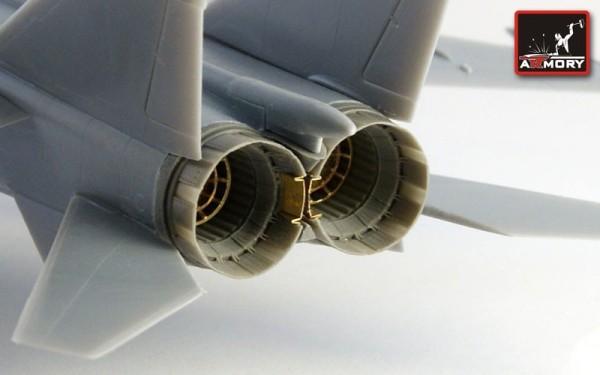 AR ACA7251    1/72 Mikoyan MiG-25P Foxbat exhaust nozzles (thumb12656)