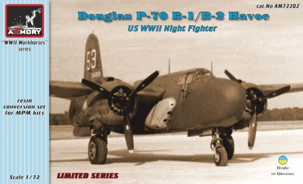 AR AM72202    1/72 Douglas P-70B-1,B-2 Havoc conversion set (thumb12650)