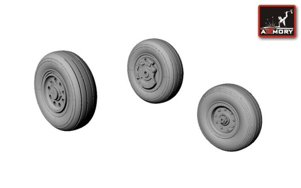 AR AW72305    1/72 F-35A Lightning-II wheels (thumb12899)