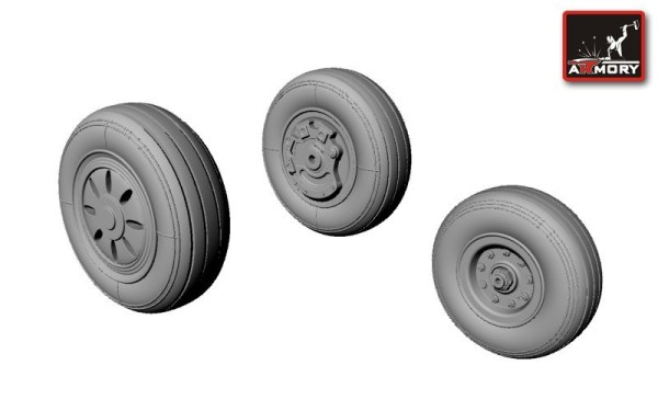 AR AW72308    1/72 Canadian F-35 Lightning-II wheels (thumb12905)