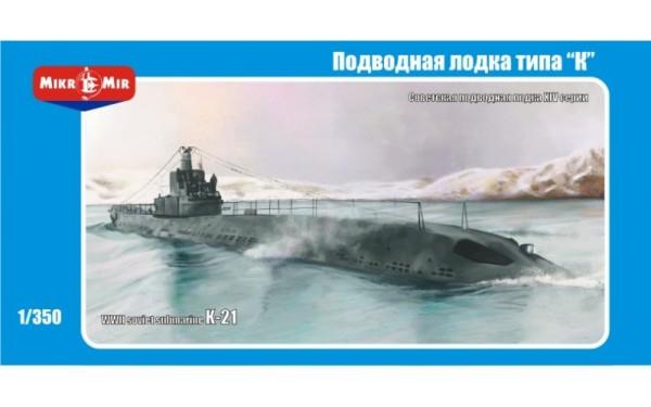 MMir350-003    K-21 WWII  Soviet submarine (thumb13528)