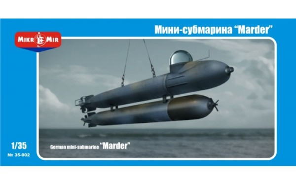 MMir35-002    German mini-submarine 'Marder' (thumb13482)