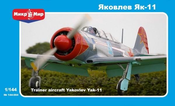 MMir144-004    Yakovlev Yak-11 Soviet training aircraft (thumb13612)