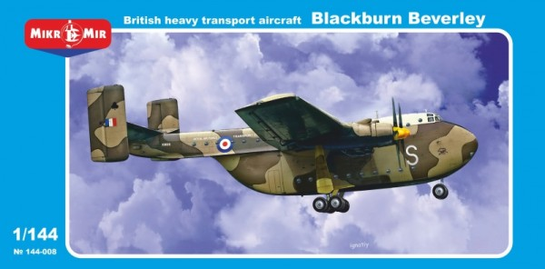 MMir144-008    Blackburn Beverley British heavy transport aircraft (thumb13614)