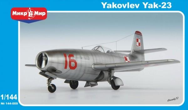 MMir144-009    Yakovlev Yak-23 Soviet fighter (thumb13616)