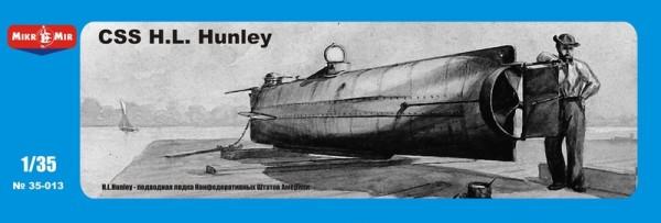 MMir35-013    CSS H.L. Hanley, Confederate submarine (thumb13504)