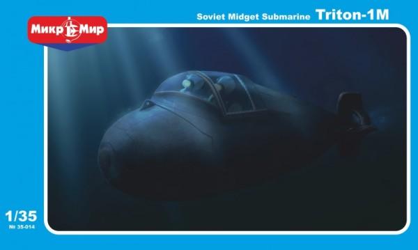 MMir35-014    Soviet midget submarine Triton-1M (thumb13506)