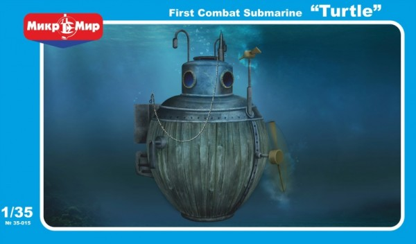 "MMir35-015    ""Turtle"" first combat submarine (thumb13508)"