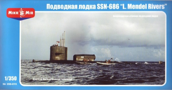 "MMir350-015    U.S. nuclear-powered submarine SSN-686 ""Mendel Rivers"" (thumb13552)"