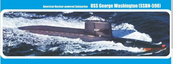 "MMir350-017    U.S. nuclear-powered submarine ""George Washington"" (SSBN-598) (thumb13554)"