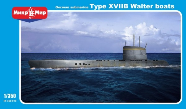 MMir350-018    German submarine U-boat type XVIIB Walter boats (thumb13556)