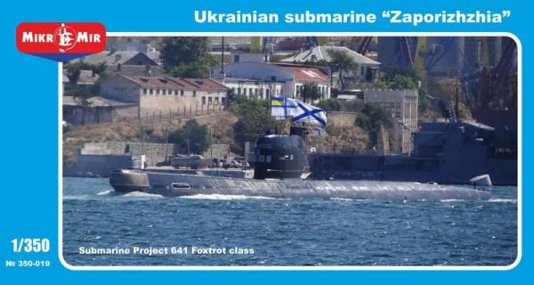 MMir350-019    'Zaporizhzhia' Ukrainian submarine, project 641 Foxtrot class (thumb13558)