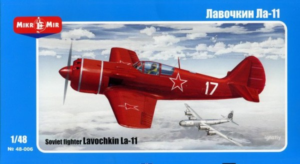 MMir48-006    Lavochkin La-11 Soviet fighter (thumb13588)