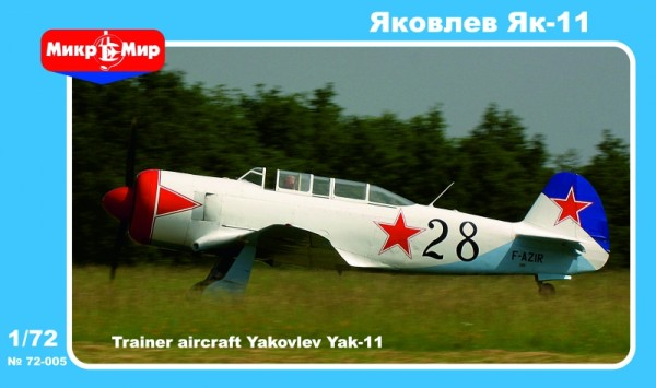 MMir72-005    Yakovlev Yak-11 Soviet training aircraft (thumb13600)