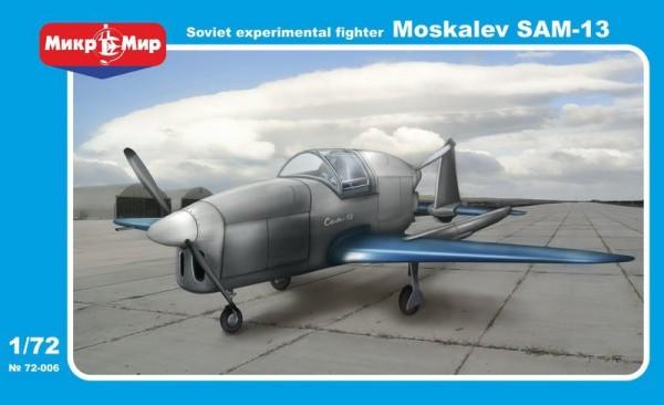 MMir72-006    Moskalyev SAM-13 Soviet experimental aircraft (thumb13602)