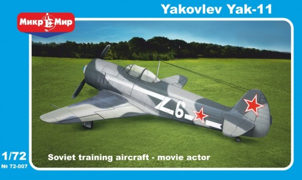 MMir72-007    Yakovlev Yak-11 Soviet trainer aircraft (thumb13604)