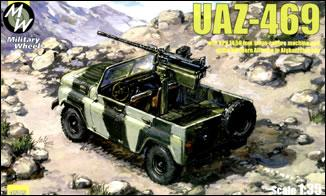 MW3505     UAZ-469KPV Northern Alliance army car (thumb13337)