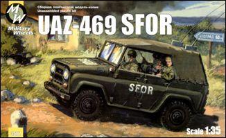 MW3507     UAZ-469 SFOR/KFOR Soviet army car (thumb13339)
