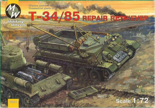 MW7211     T-34-85 Soviet WWII repair retriever (thumb13351)