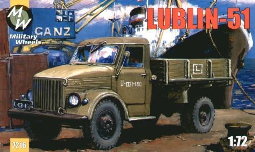 MW7216     Lublin-51 Polish truck (thumb13359)