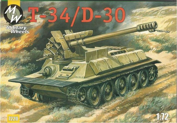 MW7220     T-34/D-30 Syrian self-propelled gun (thumb13363)