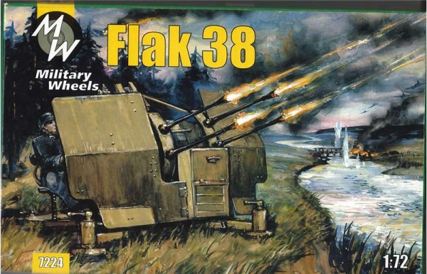 MW7224     Flak 38 German anti-aircraft gun (thumb13367)